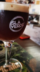 Cerveza Isla Verde, de Tijarafe, La Palma