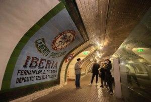 Visita guiada en la estación de Metro Madrid de Chamberí