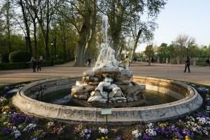 Fuente en el Jardín de la Isla, Aranjuez
