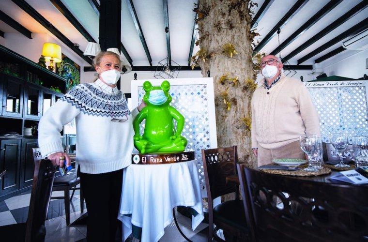 Restaurante El Rana Verde en Aranjuez, más de un siglo de existencia