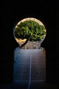 Entrada al Castillo de Trujillo