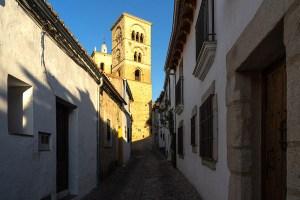 Torre de la Iglesia de Santa María la Mayor en Trujillo