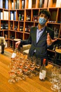 Cata de vinos en el Hotel La Caminera Club de Campo, Ciudad Real