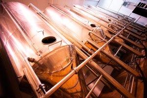 Depósitos de aceite en la almazara Colival, Valdepeñas