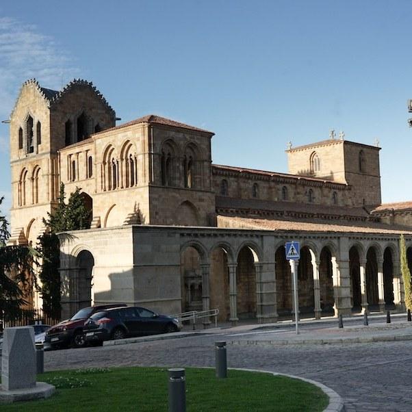 Basílica de San Vicente, joya del románico, en Ávila