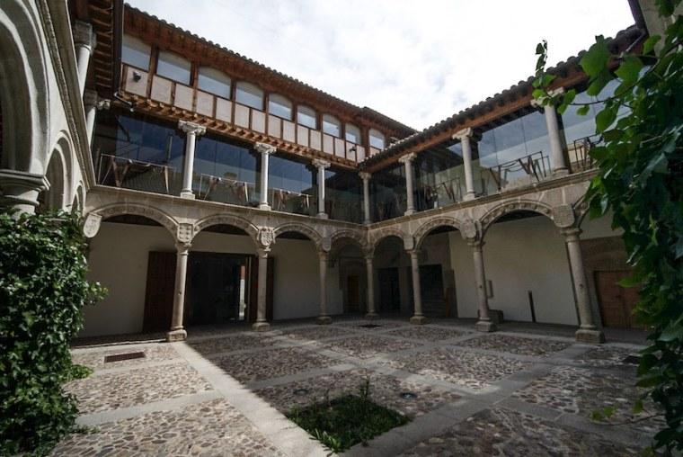 Patio del Palacio de los Verdugo, Ávila