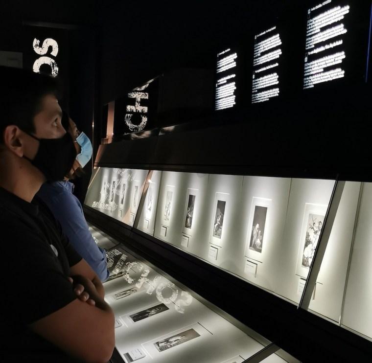 Colección de grabados en el Museo Goya de Zaragoza
