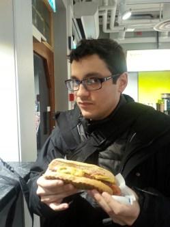 Hot dogs, el desayuno de los campeones