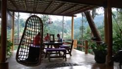 Las zonas comunes eran maravillosas en el hotel Waterfalls Homestay, Ella