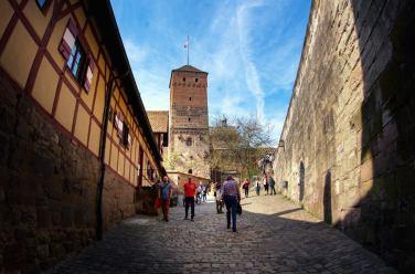 Entrada al Castillo Imperial de Nuremberg