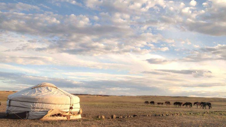 Nomadas-Desierto-Gobi