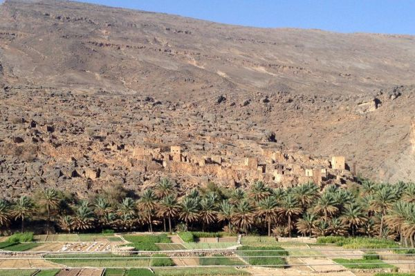 Que ver en Omán. Al Hamra, Misfat y El sistema de regadío Falaj