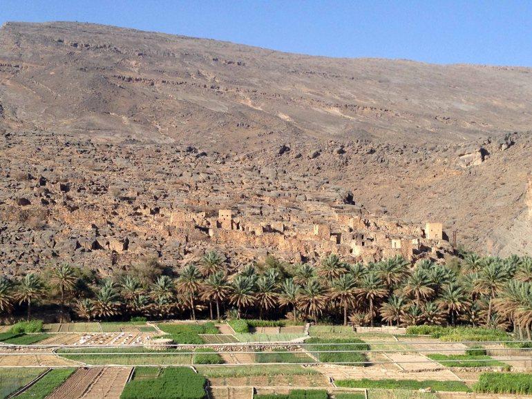 Que-ver-en-Oman-Al-Hamra-Misfat-Falaj.