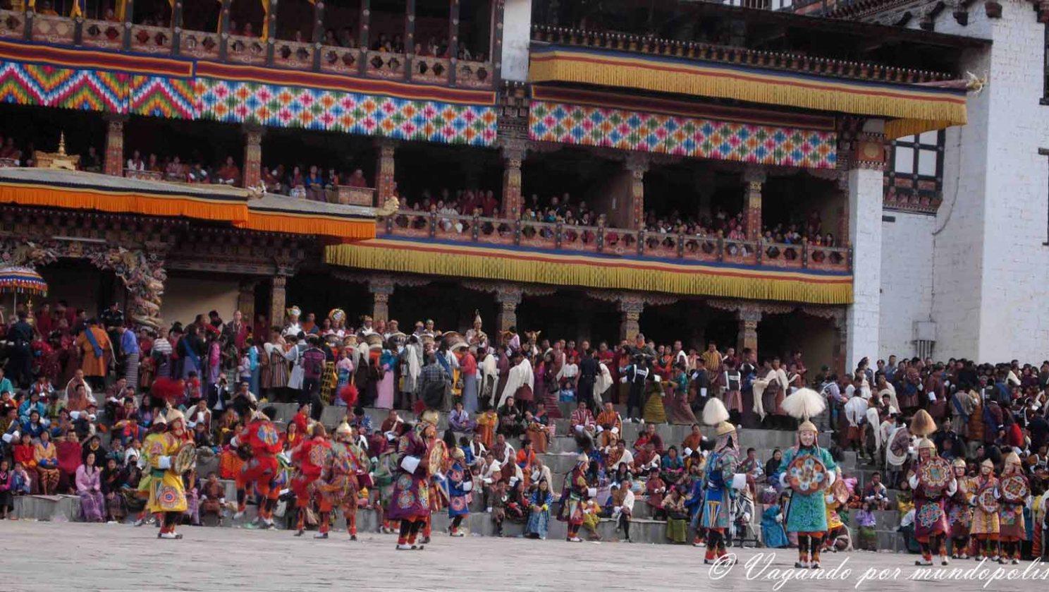 FESTIVALES EN BUTAN:LOS TSHECHU