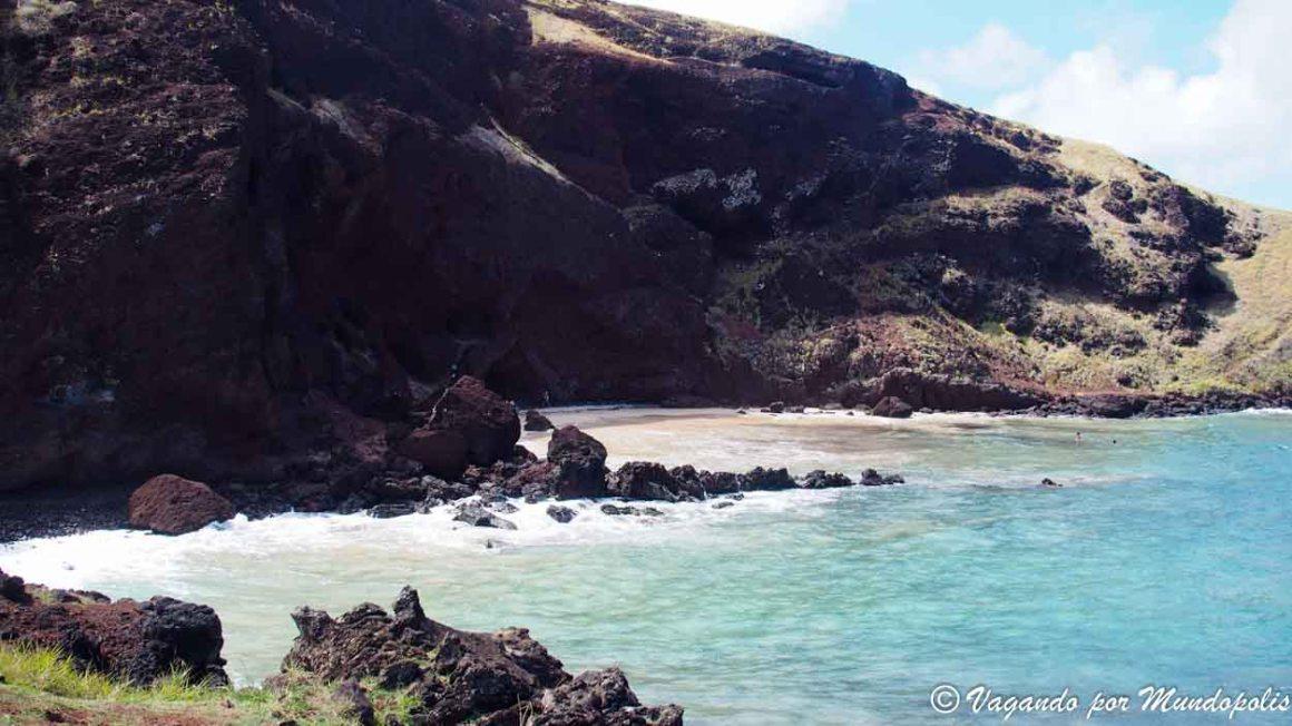Playa de Ovahe-Isla de Pascua