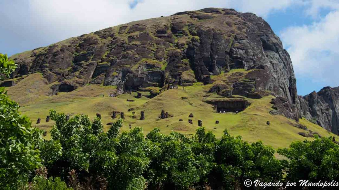 Rano Raraku-Isla de Pascua