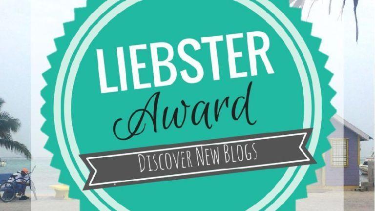 Nominación al premio Liebster. Gracias:)