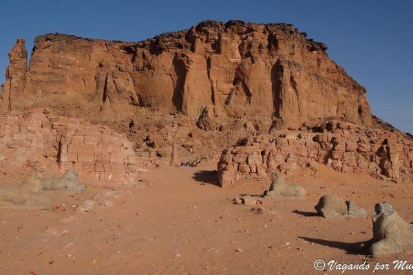 Jebel Barkal. La montaña sagrada de los Kushitas