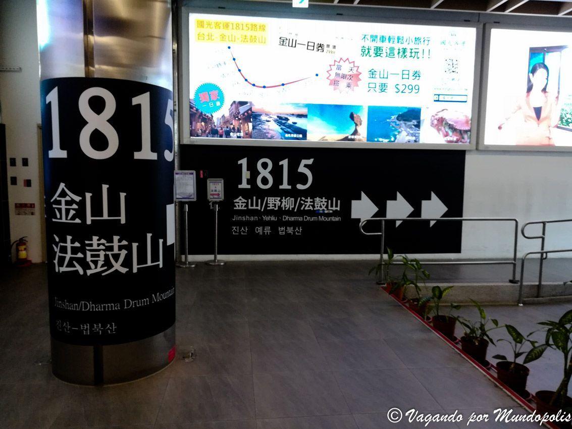 autobus-taipei-yehliu-geopark