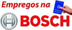 Trabalhe Conosco Bosch