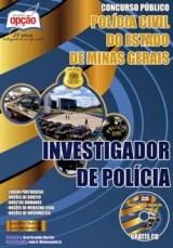 Concurso Investigador Polícia Civil MG 2014 - Edital, Inscrição 02
