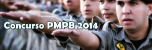 Concurso da PM e Bombeiros da Paraíba 2014 - Inscrição e Edital 01