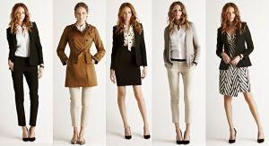 Dica de moda feminina para o trabalho 2014 - Fotos, Looks 08