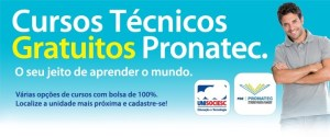Pronatec 2014 - Cursos oferecidos, requisitos 01