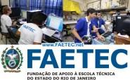 FAETEC Cursos RJ 2014 - Inscrições 02