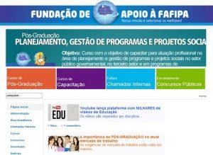 FAFIPA Concursos Abertos 2014 – Site