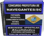 Concurso Prefeitura de Navegantes SC 2014