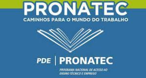 SENAI PRONATEC 2016