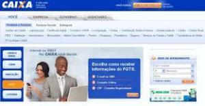 Consultar extrato do FGTS e PIS Online - Site da Caixa