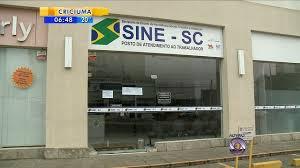 Empregos no Sine de Joinville SC Hoje