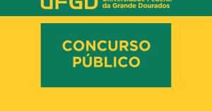 Concurso UFGD 2016 para professores
