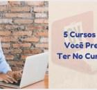 5 cursos