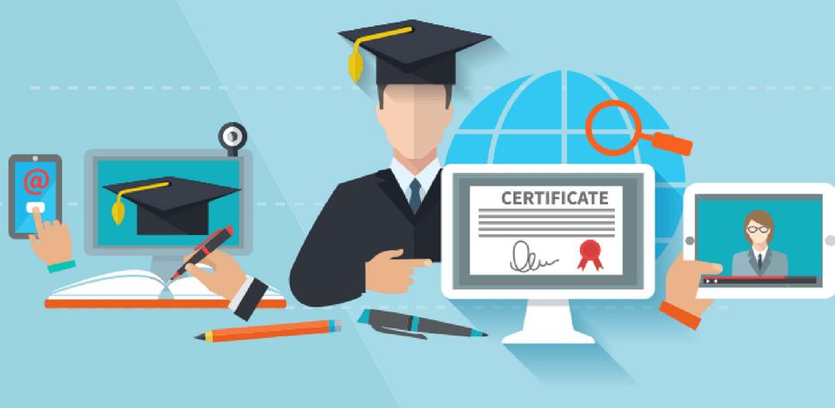 como colocar cursos online no currículo