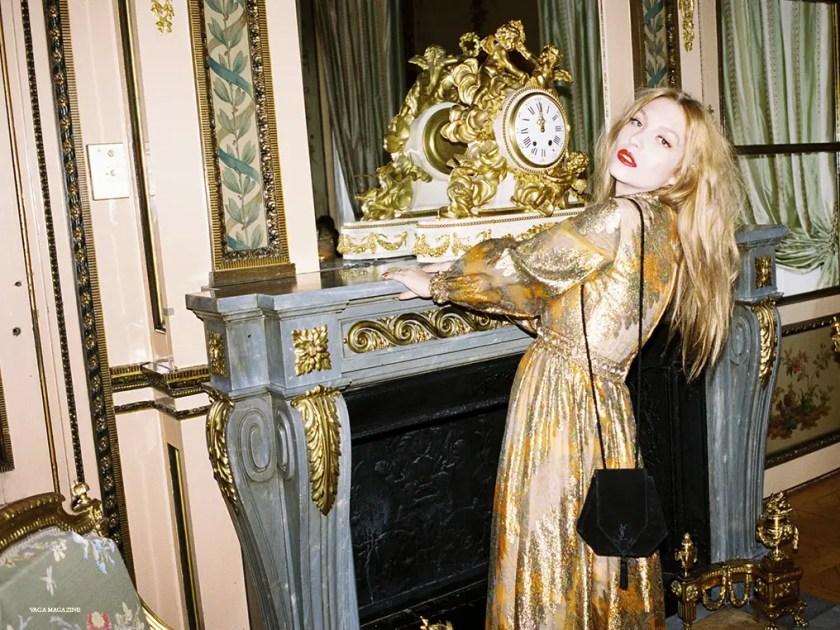 Josephine de la Baume vintage Yves Saint Laurent