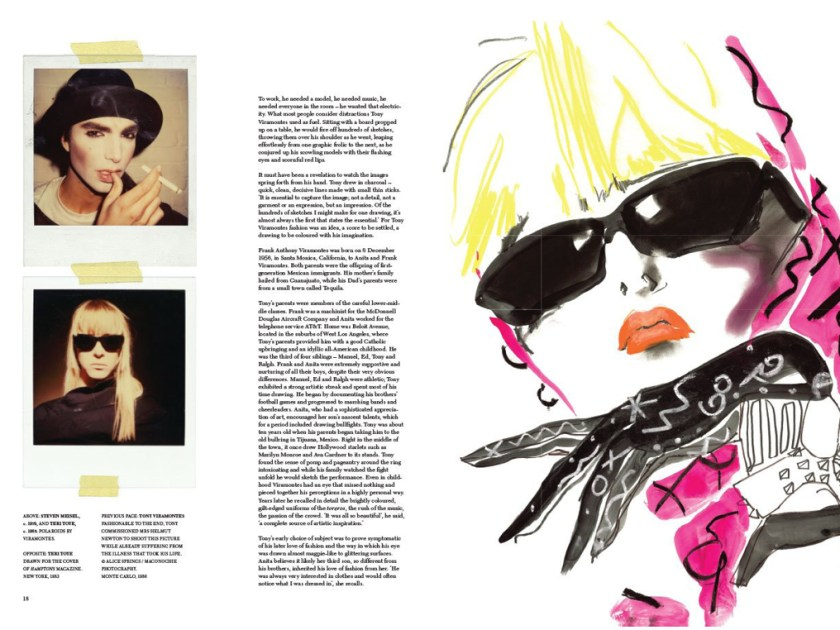 Fashion Illustrator Tony Viramontes