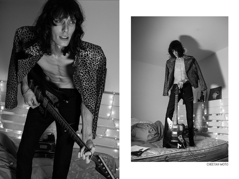 rock and roll model justin Gossman