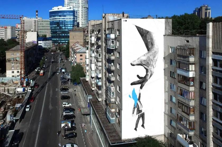 mechnykova kiev ukraine street art