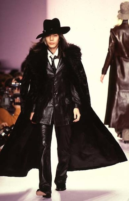 Men's Anna Sui Fashion Show in the 90s