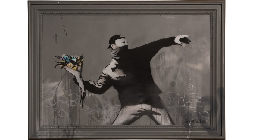 Banksy art for sale at PHILLIPS