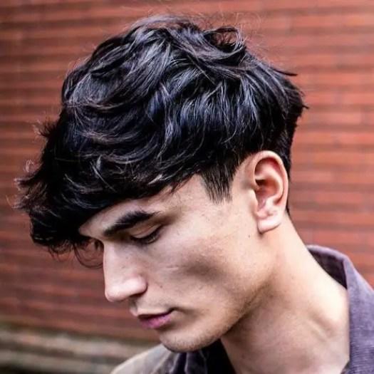Eboy Style: Haircuts + Hairstyles - natural wavy hair
