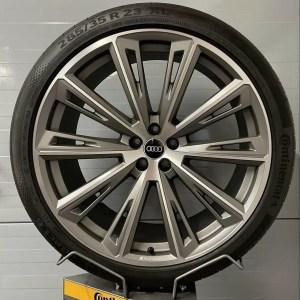 Original Audi 23 Zoll SQ8 Trapezoid Sommerräder 4M8601025R Kompletträder Alufelgen Q8 RSQ8