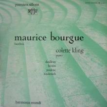 Enregistrement de la Sonate pour hautbois qui mit Dutilleux très en colère