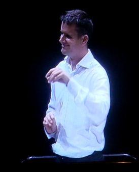 Philippe Jordan In rehearsal