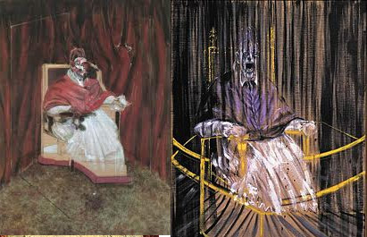 Francis Bacon Study after Velázquez's Portrait of Pope Innocent X