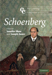 The Cambridge companion to Schoenberg