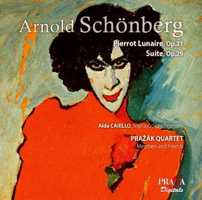 Arnold Schönberg - Pierrot lunaire - Alda Caiello - Prazák Quartet
